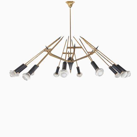Italienische Deckenlampe von Oscar Torlasco für Lumi, 1958 Jetzt bestellen unter: https://moebel.ladendirekt.de/lampen/deckenleuchten/deckenlampen/?uid=e0644761-cf1e-5335-a564-ff48b1716f49&utm_source=pinterest&utm_medium=pin&utm_campaign=boards #deckenleuchten #lampen #deckenlampen