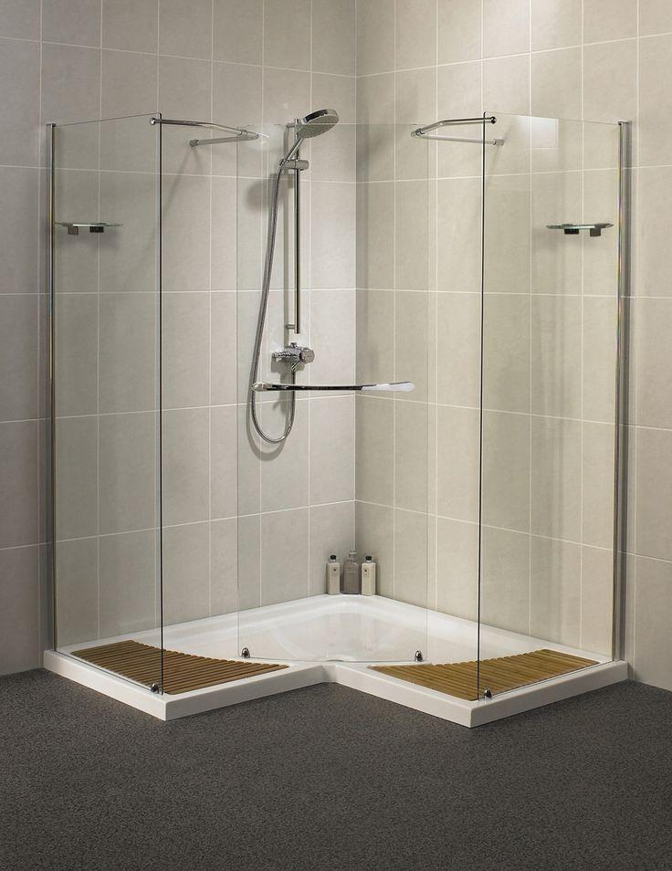 Tub Wall Mounted Shower Enclosures