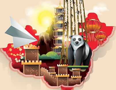 "Check out new work on my @Behance portfolio: ""Welcome to China"" http://be.net/gallery/36101363/Welcome-to-China"