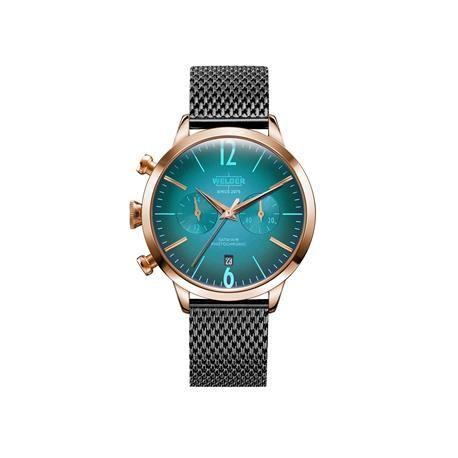 Reloj señora WELDER Moody. Gris plomo. Menta. Cronómetro. WRC602
