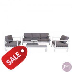 Sitting Pretty Furniture - Alpha Four Piece Lounge Setting