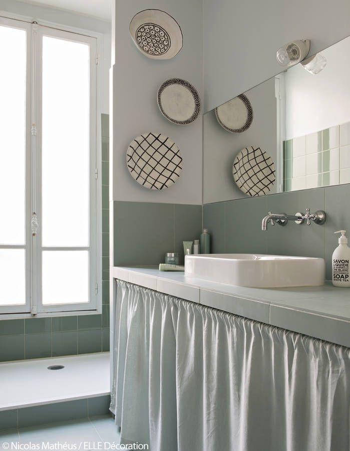 les 25 meilleures id es concernant salle de bains pastel sur pinterest chambre de roses et. Black Bedroom Furniture Sets. Home Design Ideas