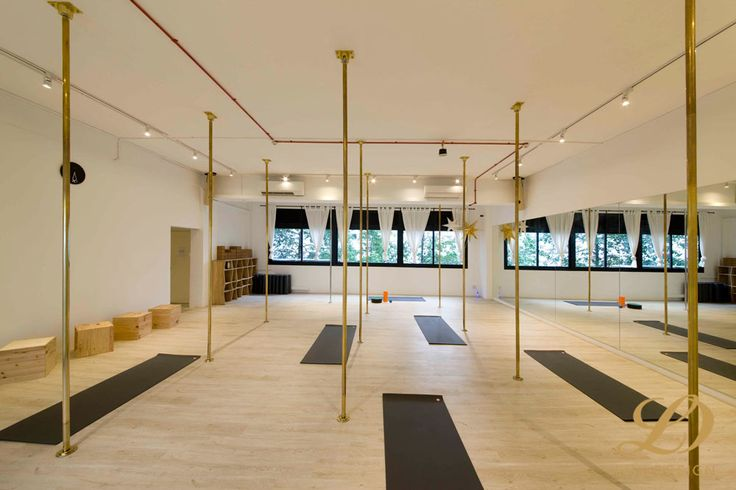 Pole Dancing and Yoga Studio - 58 Kim Yan, Commercial Interior Design