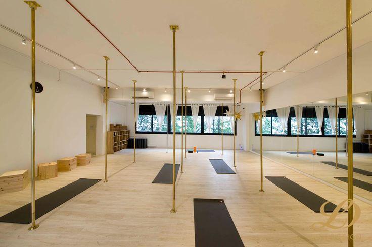 Pole Dancing and Yoga Studio - 58 Kim Yan, Commercial Interior Design