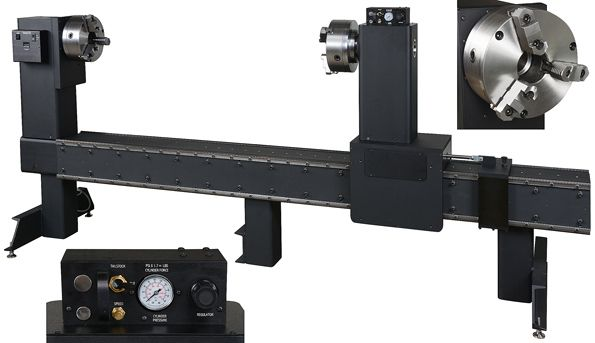 The #circumferential #seam #welding #lathe consists of the characteristics like strong penetrability and smooth welding quality...http://goo.gl/L9giU4