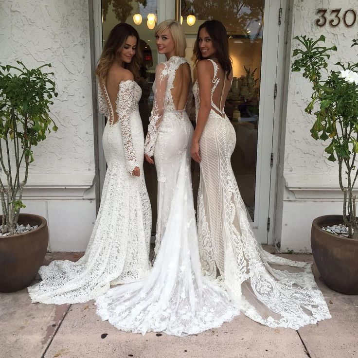New york bridal fashion week show 2016 new collection for Wedding dress boutiques in nyc