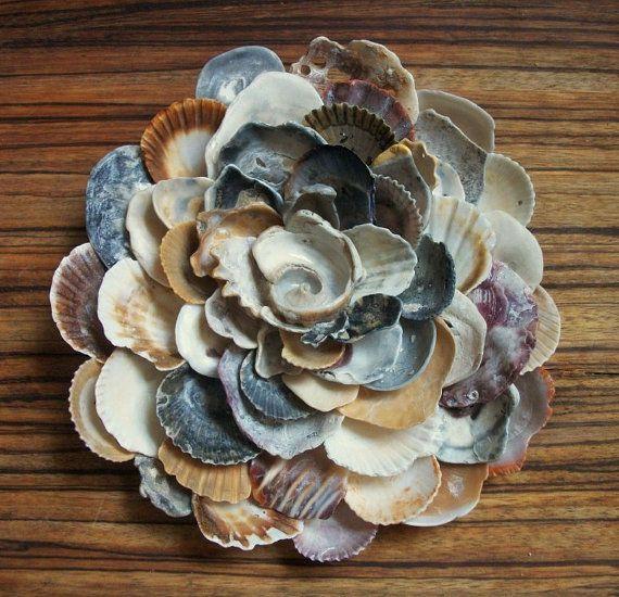 wall art shell sculpture
