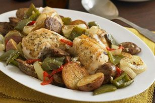 tuscan-chicken-sausage-bake-171163 Image 1
