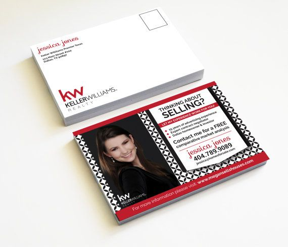 New agent promotion postcards. Pre-designed, just add your info and logo. Great farming tools for realtors. Keller williams agents, RealEstatedesigns