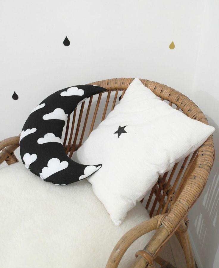 Les 25 Meilleures Id Es De La Cat Gorie Coussin Noir Et Blanc Sur Pinterest Coussins En Noir
