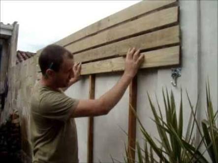 floreira de parede de madeira - Buscar con Google
