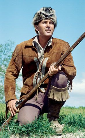 Fess Parker as Daniel Boone.  My Great-aunt Irene used to babysit  little Fess Parker.