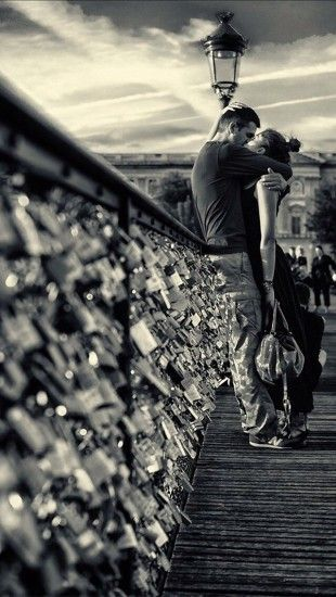 Would Love To Do this With My Boyfriend by the Love Lock Bridge in Paris <3
