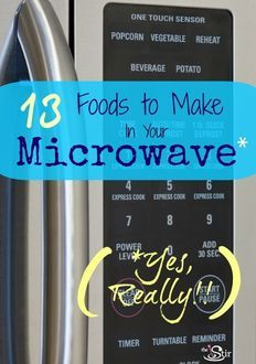 13 Foods to Make in Your Microwave... scrambled eggs.. yum!