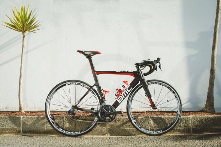 BMC TMR01 of Team BMC-Etixx Tri #RideShimano