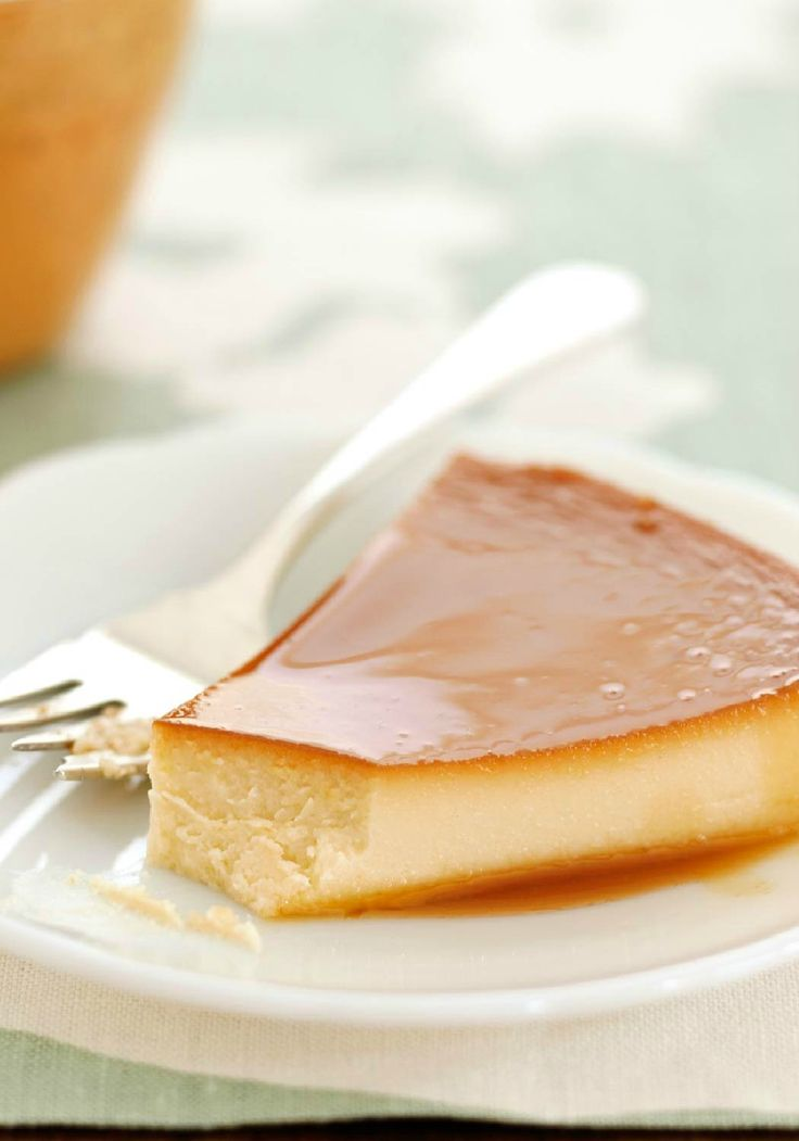 Pineapple-Cream Cheese Flan – It's just eggs, sugar, cream cheese and sweetened condensed milk flavored with pineapple juice. But this luscious dessert is a masterpiece of culinary art.