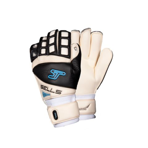 Sells Silhouette Aqua Goalkeeper Gloves - Goal Kick Soccer