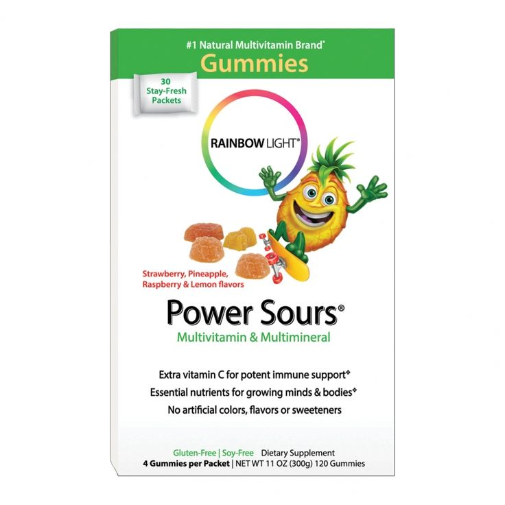 Rainbow Light Power Sours® Multivitamin & Minerals were featured in Parent Guide News' products to make mealtime easier.