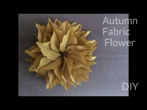Autumn Flower - YouTube