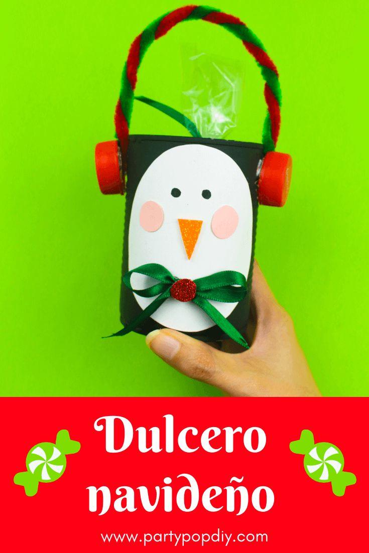dulcero navideño para regalar #navidad #dulcero #dulceros #navidad #manualidades #latas #reciclaje Baby Shower, Diy, Christmas Ornaments, Holiday Decor, Cakes, Recycled Tin Cans, Sachets, Holiday Ornaments, Recycling