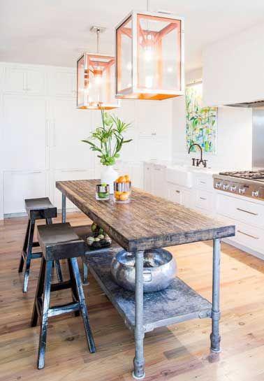 Les 259 meilleures images propos de cuisines kitchens sur pinterest cuisine ouverte - Coin repas d hoek ...