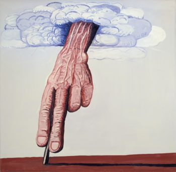 Philip Guston, The Line, 1978. PRIVATE COLLECTION