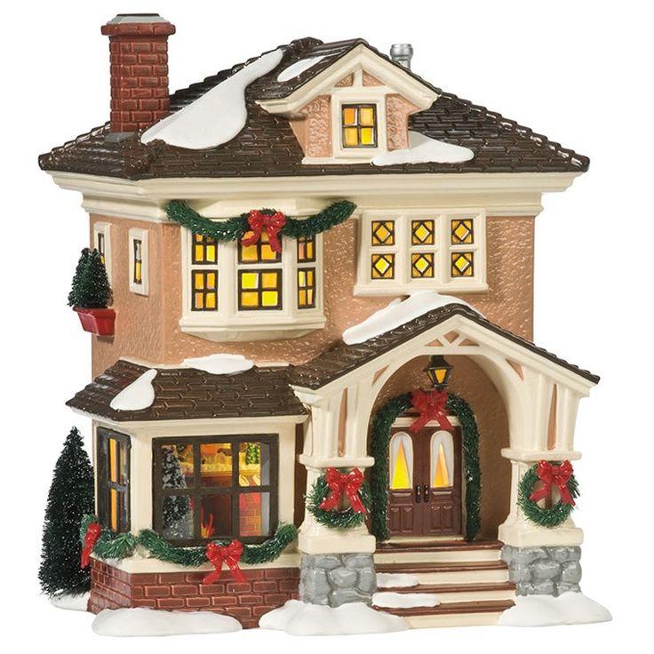 Department 56 - Snow Village -  Christmas At Grandma's House | Department 56 Corner