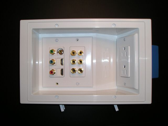 Recessed Electrical Wall Box On Telephone Wall Plate Wiring Guide