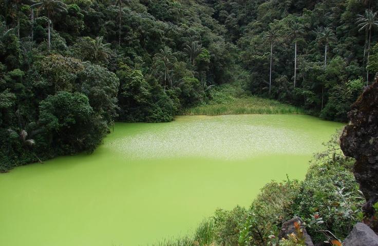 Laguna Verde.  Mpio. Consacá (Nariño) - Colombia