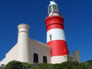 Visit the Agulhas Lighthouse and museum on your way to the southernmost point of Africa