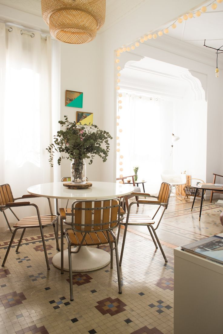 A Creative Coupleu0027s Vintage Eclectic Spanish Home