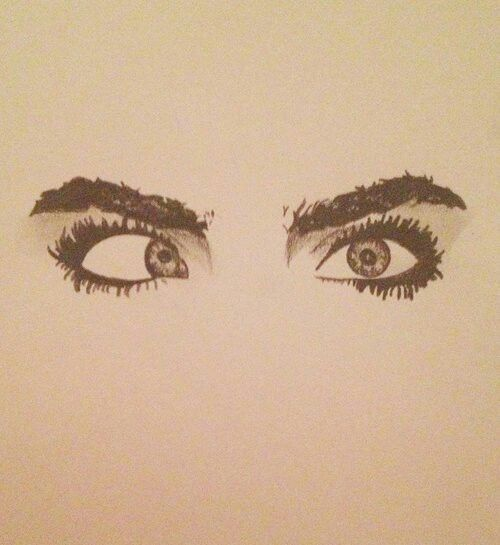 Cara Delevingne eyes *-* | Draw | Make up | Awesome