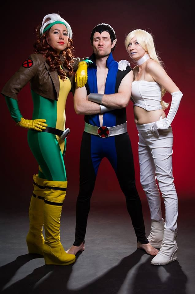 x-men Rogue Namor Emma Frost cosplay