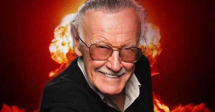 Stan Lee pensa em ser co-protagonista de filme da Marvel -
