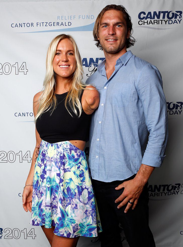 Pin for Later: Baby Boom! All the Stars Who Became Parents This Year Bethany Hamilton and Adam Dirks Bethany Hamilton and Adam Dirks became a family of three when their son Tobias was born in June.