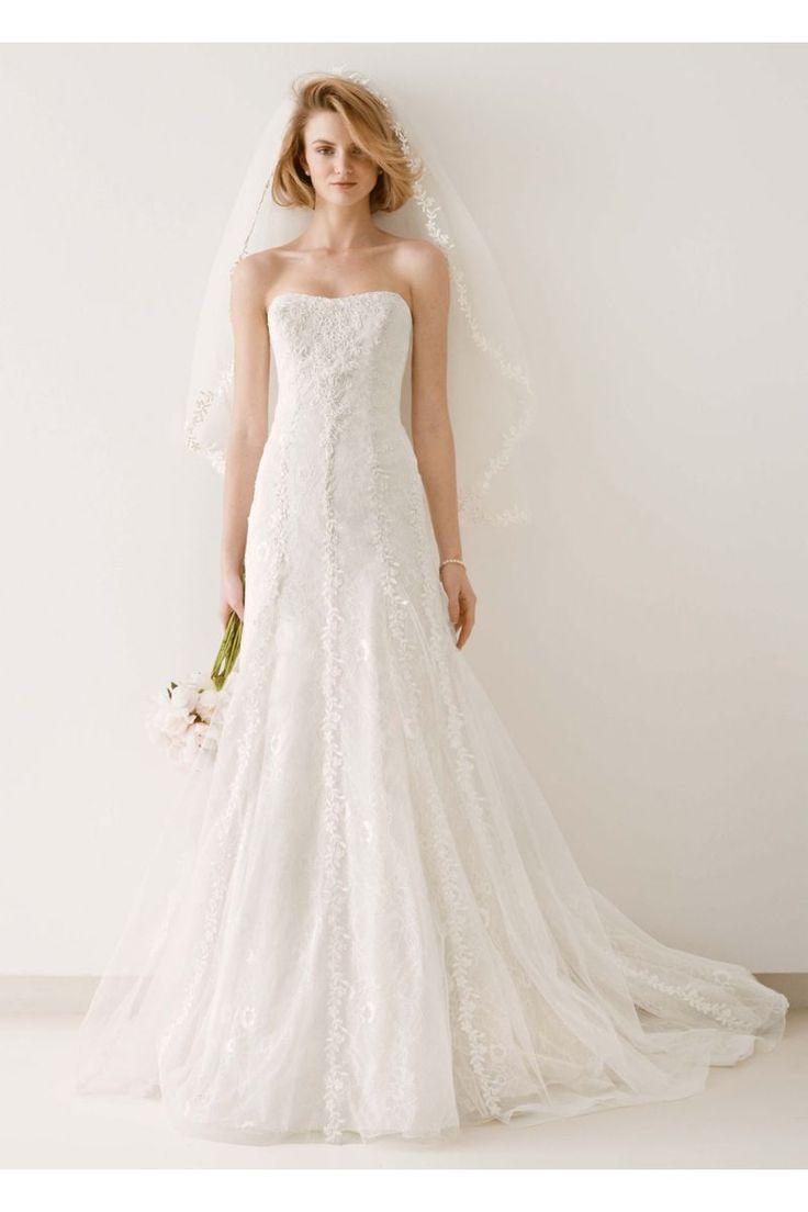 1180 best bridal gown images on pinterest wedding frocks for Melissa sweet short wedding dress