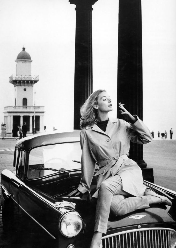Tania Mallet, Vogue, March 1960