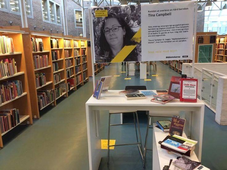 #mælkebøttebarniblomst #foredrag på #aalborgbibliotekerne i anledningen af #DR tema #stopvoldmodbørn