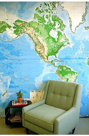 123 best maps maps maps images on pinterest world maps boys room world map wall mural online only gumiabroncs Gallery