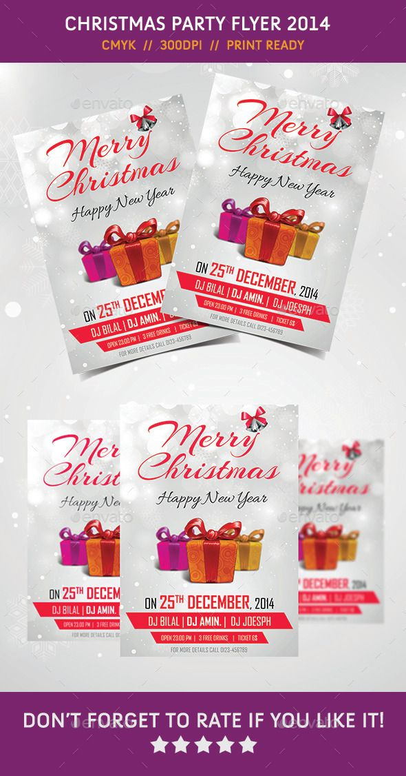 58 best Advertising images on Pinterest Deko, Beauty tips and - free printable christmas flyers templates