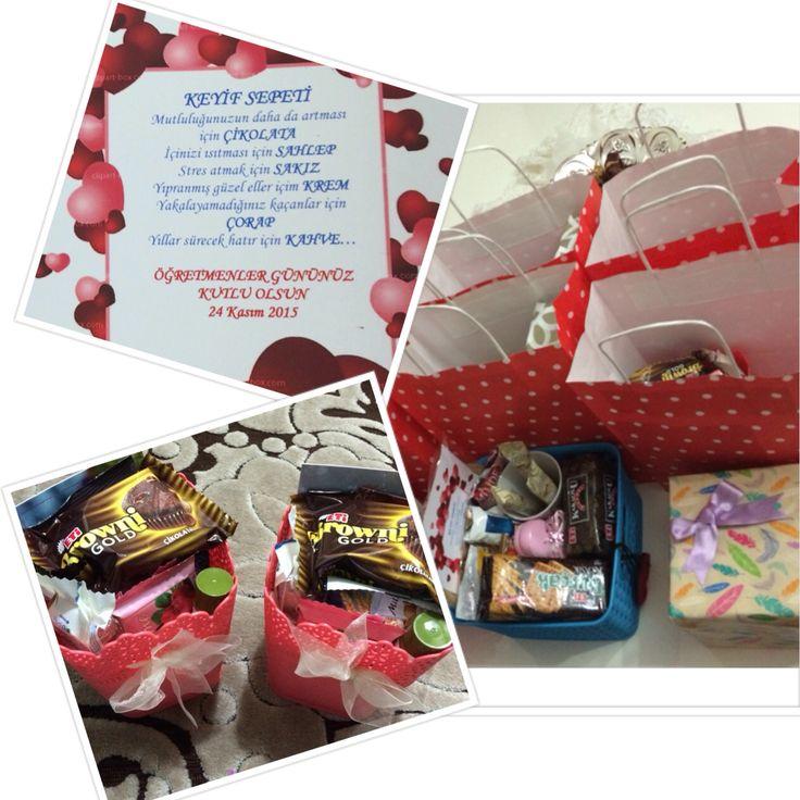 Öğretmenler günü hediye paketleri