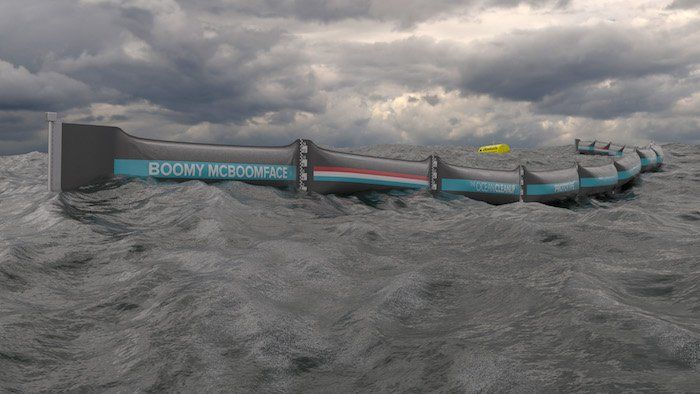 Source : The Ocean Cleanup