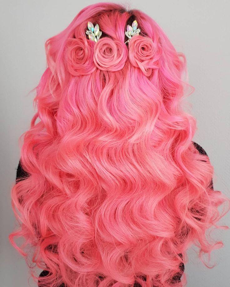 пополнила картинки розового цвета волос тюменской