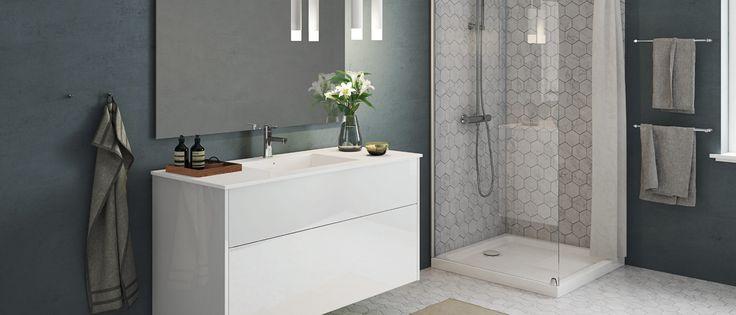 De stolte danske designtradisjonene blir hedret med Senti Gloss. Stikk innom og bli inspirert av vårt store utvalg av løsninger til badet.
