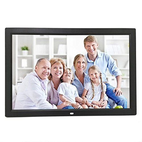#10: Celendi 15 Inch 1280800 Hi-Res Digital Photo Frame Electronic Photo Album with Auto On/Off Timer MP3 and Video Player (Black) Celendi 1280800 Hi Res Digital Electronic belongs to hot selling products in Photo  category in Canada. Click below to see its Availability and Price in YOUR country.