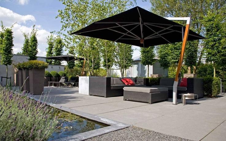 39 beste afbeeldingen van kleine tuin - Claustra ontwerp pour terras ...