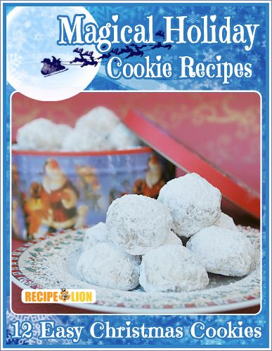 Magical Holiday Cookie Recipes: 12 Easy Christmas Cookies {Printable Recipe Collection}