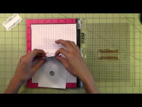 Misti Stamp Tool Info & cleaning instructions video -  My Sweet Petunia