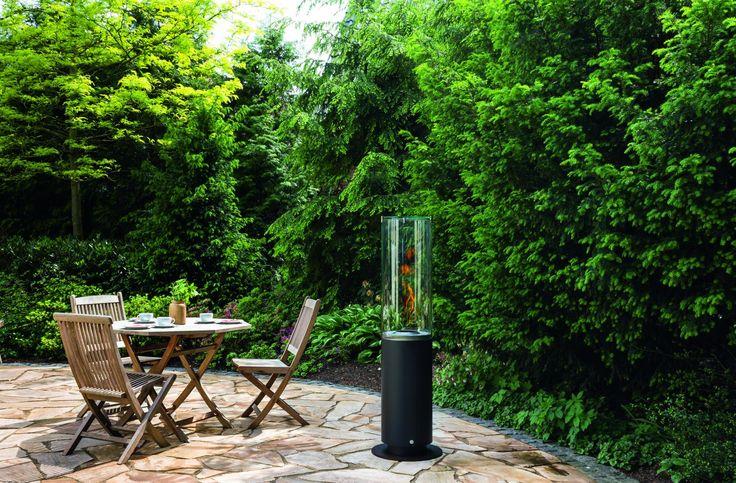 Punto de fuego de bioetanol, para decorar exteriores y jardines. Ideal para crear espacios personales y con mucha intimidad. #Bioetanol #decoración #paisajismo #decoración #decoradores #chimenea