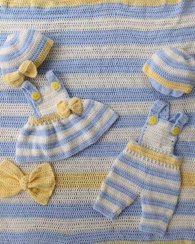 Picture of Lemon Drop Layette Crochet Pattern
